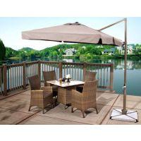南京户外餐桌椅遮阳伞配套户外餐饮桌椅