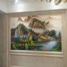 玻璃瓷砖背景墙uv打印机