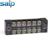 赛邦 通用接线端子 固定式接线板 接线排 15A 600V TB-1506