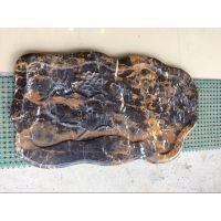 进品黑金花1米大茶盘大理石 云浮仅此一家天然石材工艺品 防尘