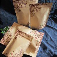 厂家定制各种尺寸拉链袋 自封袋 茶叶袋 咖啡气阀袋 白牛皮纸袋