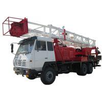 陕汽新奥龙修井车,适用于各种油井的修井作业,动力强劲、机械化程度高、功率大、高效、环保、节能新型