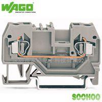 【原装正品】万可WAGO 280-901 2线普通接线端子
