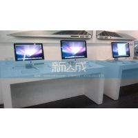 苹果靠墙体验展示桌 苹果手机展示台 苹果展示柜台出售