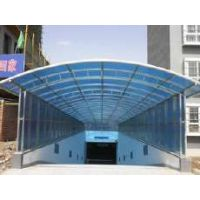 上海太勇通用PC高楼花房阳光板,通用PC雨棚阳光板,U型锁扣板厂家、PMMA耐力板