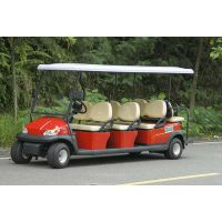 八座高尔夫球车 路朗电动车有生产八座高尔夫球车