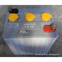 观光车电瓶3D220顺风牌6V220Ah蓄电池 蓄电池 电瓶 电动车电瓶