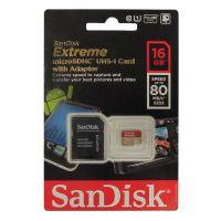 Sandisk闪迪 TF卡 16G Micro/SD Class10 80M/s 533X 极速手机卡