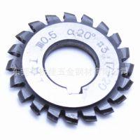 东莞批发 α20° 模数m0.5 直齿圆柱齿轮用 盘形齿轮铣刀
