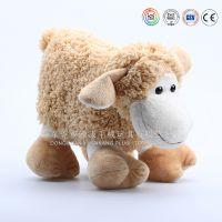 Russian plush toy sheep出口俄罗斯的毛绒玩具羊公仔来图来样定制