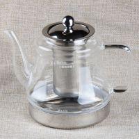 创虹D808 电磁炉专用壶 玻璃304不锈钢壶 泡茶壶 花茶壶