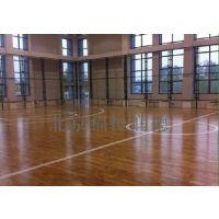 福恒厂家直销枫木运动地板,主副龙骨结构实木体育地板,舞台木地板,篮球馆专用木地板