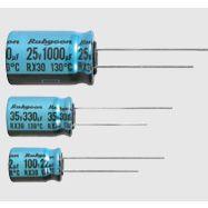红宝石RX30系列25V1000UF铝电解电容