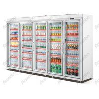 广东雅绅宝五门FG32L5F展示柜多少钱一台 立式五门饮料保鲜冷柜