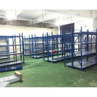 仓库货架中型仓储货架置物架展示架金属五金家用货架