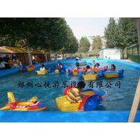 夏季水上趣味运动会充气水池生产厂家泡泡活动道具