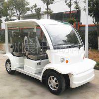 义务杭州电动观光车 四轮旅游景区电瓶车 校园工厂接送车