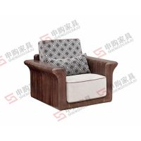 TW22-1单人沙发|实木环保家具倡导者|申购家具