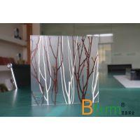 内夹植物 半透明 透光 生态树脂板 应用案例