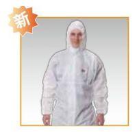 3M4515连体防护服防尘服白色带帽工作服