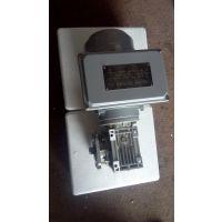 江苏常州水处理设备用涡轮减速机单相电机RV040/100-F2-DZ2+ML7114-0.25KW