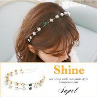 韩国流行韩版来自星星的你千颂伊同款发饰复古大牌珍珠细发箍发带