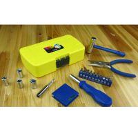 供应19PC家居迷你工具 家用组合工具套装 居家必备
