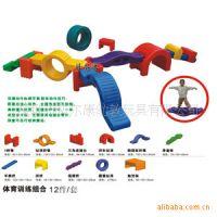 十二项体能训练、体能训练组合、幼儿园体育器材、体育活动玩具