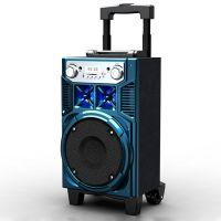 拉杆音箱8寸喇叭MS-73广场音箱音响 插卡带遥控音响  带收音功能