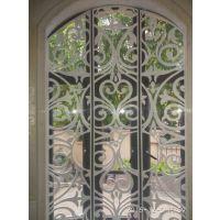 供应欧式防盗铝合金窗花设计生产