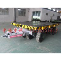厂家定做重型工具车 直销中德重科30吨平板拖车 平拖车 功能全挂车