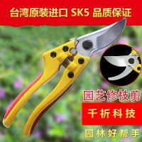 台湾原装进口SK5修枝剪 园林园艺剪刀 树枝剪粗枝剪剪枝剪果枝树剪