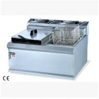 欧特专卖 OT-902 双缸双筛电炸炉 电炸锅 商用油炸炉 油炸锅