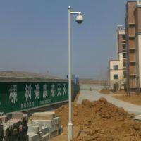 小区监控杆销售 3米小监控杆 摄像机监控杆促销 使用长久监控杆