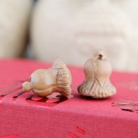 桃木小白菜 手工雕刻工艺品批发 辟邪挂件配件 木质雕刻产品