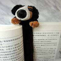 厂家直销创意毛绒玩具动物书签可来图设计打样