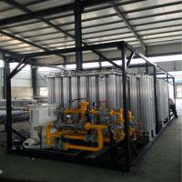 河北厂价批发大型LNG气化调压撬 天然气减压复热计量站设备 LNG卸车供气一体撬
