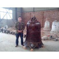 铜钟雕塑制造|新疆铜钟雕塑|博创雕塑