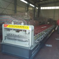 昌宇820型角驰压瓦机、彩钢设备价格、全自动压瓦机、供应河南