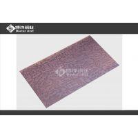 乱纹红古铜不锈钢蚀刻自由 供应黑龙江304彩色钢板材料