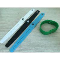 门票手腕带SKWK260,RFID感应式硅胶手腕带东莞喜创厂家批发