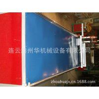 供应连云港州华机械生产板材流水线裁板机纵向横向都可以移动裁板