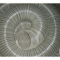 pvc透明钢丝软管 通风排烟 木工 工业机械抽吸尘塑料管DN40-300mm