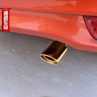 13-14款新威驰尾喉 新卡罗拉专用排气管 丰田威驰改装 不锈钢尾喉