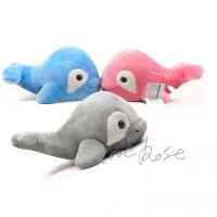 韩国出口高品质长毛绒鲸鱼儿童玩具毛绒公仔2015生日礼物儿童节