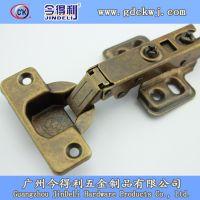 今得利厂家热销 固定仿古液压铰链青古铜铰链橱柜合页批发B-4548