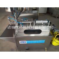 汉科供应DL-500型常压膏体灌装机