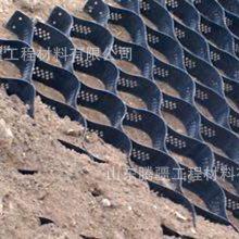 山东腾疆三维网状格室 土工格室生产厂家 高强度HDPE地基土工格室