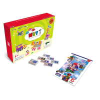 韩端教育机器人Goma_BrainB、ABS材质儿童积木玩具