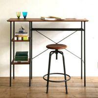 宜家书桌现代简约简易带办公桌 办公桌办公台时尚办公台